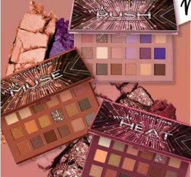 producto: NUDE COLLECTION EYESHADOW PALETTE