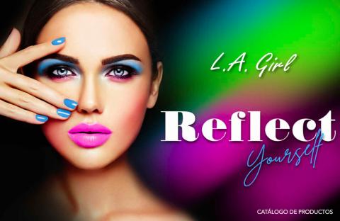 Cover de catalogo de productos L.A. GIRL 2021
