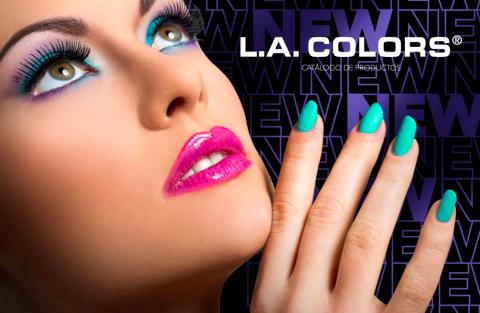 Cover de catalogo de productos L.A. COLORS 2021