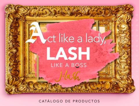 Cover de catalogo de productos JLASH 2021
