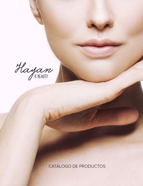 Cover de catalogo de productos HAYAN